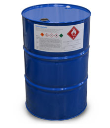 chemical drum labelled