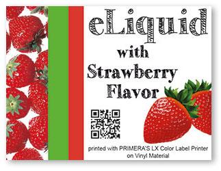 eLiquid-strawberry